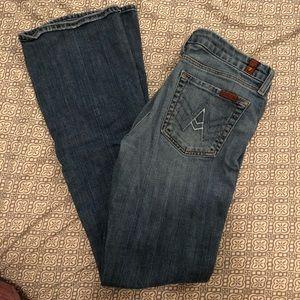 "7 FAMK ""A"" Pocket Jeans"
